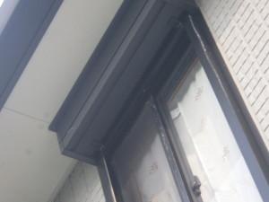 埼玉県越谷市 コウモリがシャッターボックスに